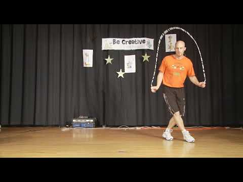 How To Do The Moonwalk While Jumping Rope - Videokast #38