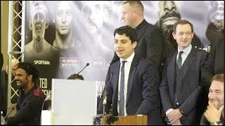 WHO THE FOOK IS THAT GUY!!? - DAVID HAYE MANAGER ADAM MORALLE GETS ABSOLUTELY RUINED BY SCOUSE FANS