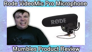 Best Mic For Audio Recordings? - Rode VideoMic Pro Compact VMP Shotgun Microphone Review by Mumbles