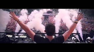 DJ Fresh ft. Sian Evans - Louder (Hardwell Remix)(Music Video)