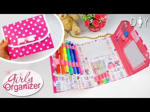 diy organizer planner bag notepad youtube