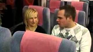 Speed dating on a fast train