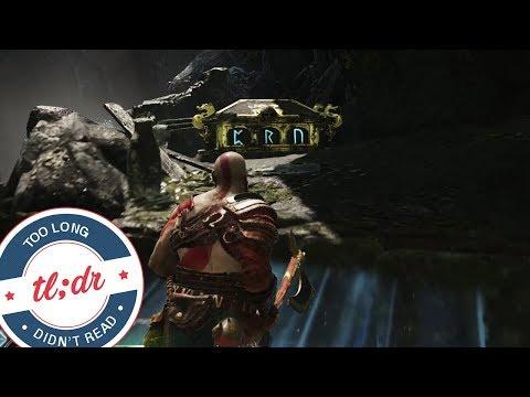 God Of War - Nornir Chest - Shores Of Nine (Light Elf Outpost)