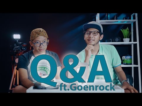 Q&A Videography & Cinematography ft.Goenrock