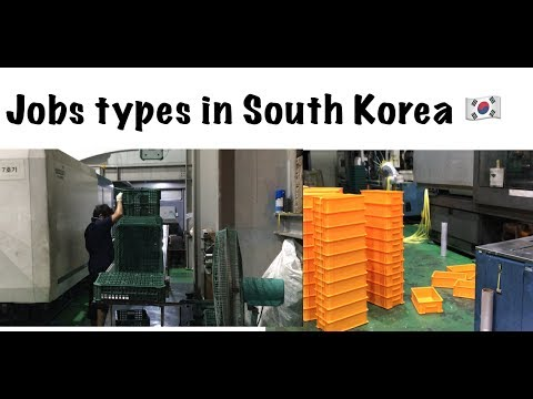 Jobs types in South Korea 🇰🇷 Urdu and Hindi