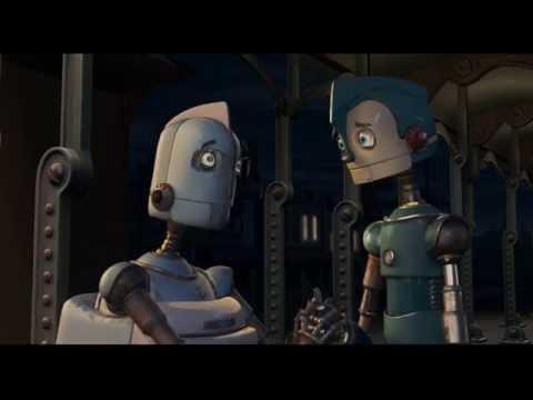Robots Train Station Scene