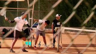 Conozcan a Steeven Tigrero y su entusiasmo por el tenis