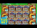 Sky Rider Slot Machine SUPER FREE GAMES Won ★BIG WIN BONUS★!