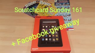 Sandwell mobiles Scratchcard Sunday 161 + Facebook Giveaway