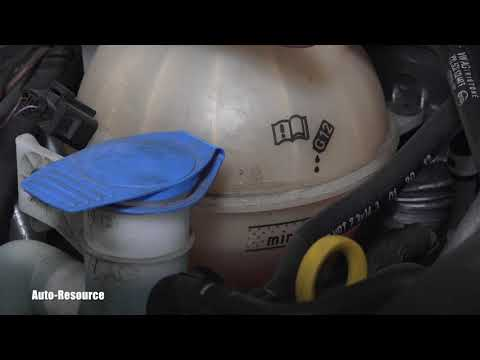 How to check coolant in VW Jetta