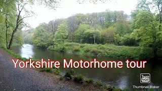 Yorkshire Motorhome tour (Part 1)Bolton Abbey Caravan and Motorhome club site