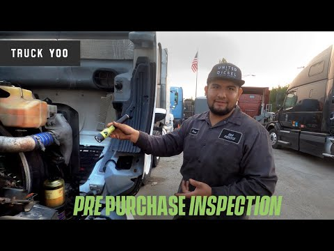 Semi truck pre purchase inspection. Is this a good truck to buy?