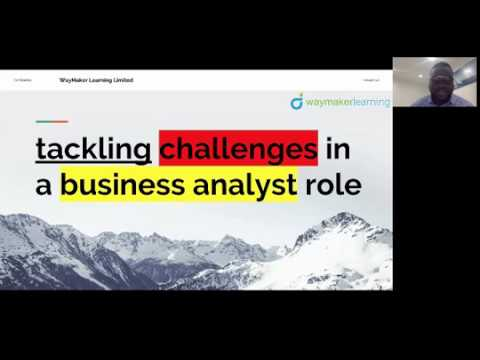 LIVE WEBINAR: Tackling Challenges Within a Business Analyst Role