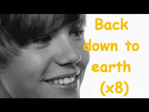 Justin Bieber-Down To Earth Lyrics