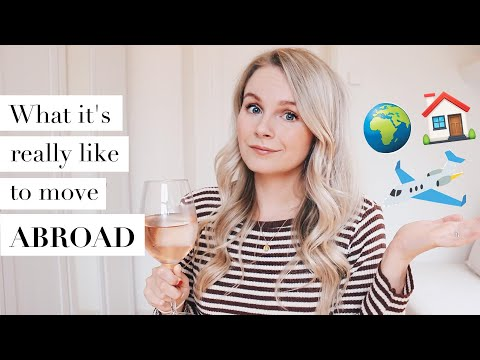 WHAT IT'S LIKE TO MOVE ABROAD CHAT, Q&A, JOURNAL THOUGHTS,  + WINE | ANDREACLARE thumbnail