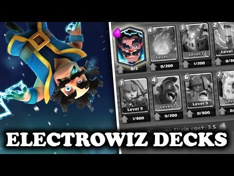 New Oj Vid Clash Royale Good Electro Wizard Decks For