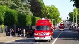 Défilé du 14 Juillet des Sapeurs Pompiers de Bourges / SDIS 18