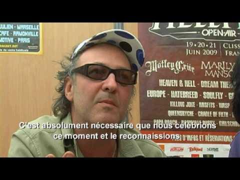 KILLING JOKE INTERVIEW HELLFEST 3  - SATANISME