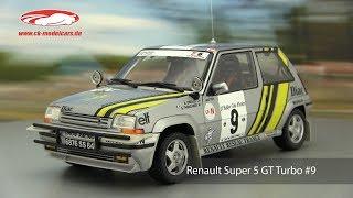 ck-modelcars-video: Renault Super 5 GT Turbo #9 Winner Rallye 1989 Oreille, Thimonier  Norev