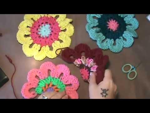 Flower Power Valancehalf Flower Pattern Youtube