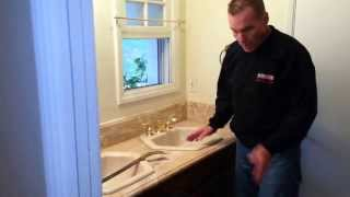 Explanation How To Remove Double Sink Vanity From Bathroom