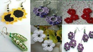 ||crochet earring || Beautiful crochet earring designs || new designs 2019||