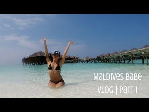 MALDIVES Babe | Vlog part 1