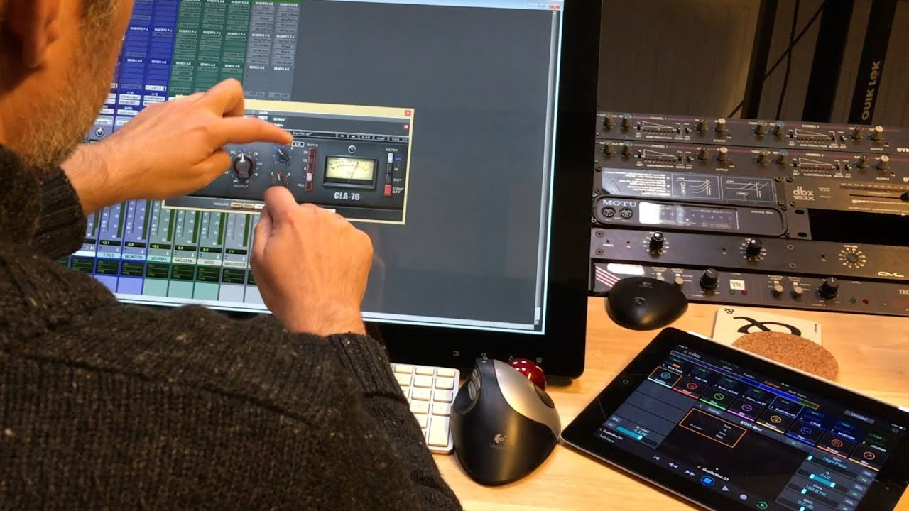 Using Touch Screens for Music Production