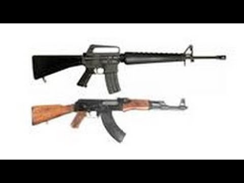 M16 vs AK47 :Which one is better?