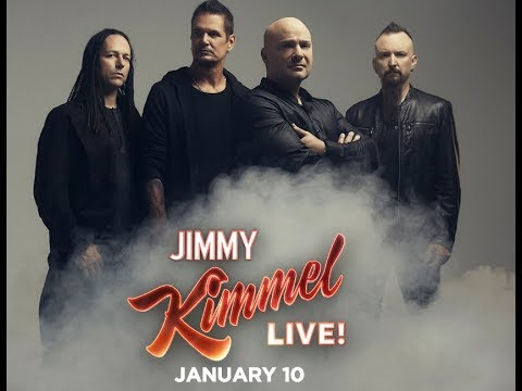 Disturbed to perform on  'Jimmy Kimmel Live!' ..!