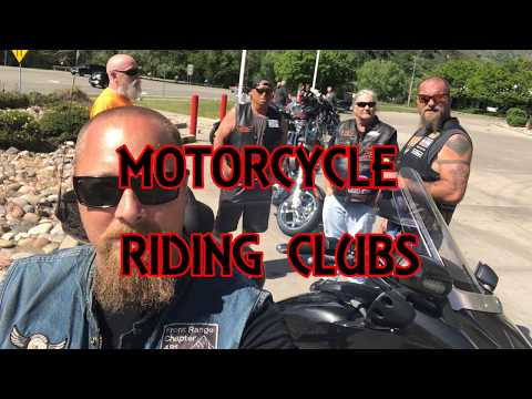 MotoVlog-Motorcycle Riding Clubs (RC's)
