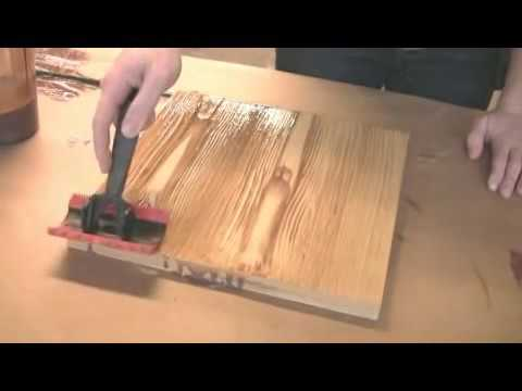 Wood Graining Painting Effects DIY Wall Decoration Tool Demo