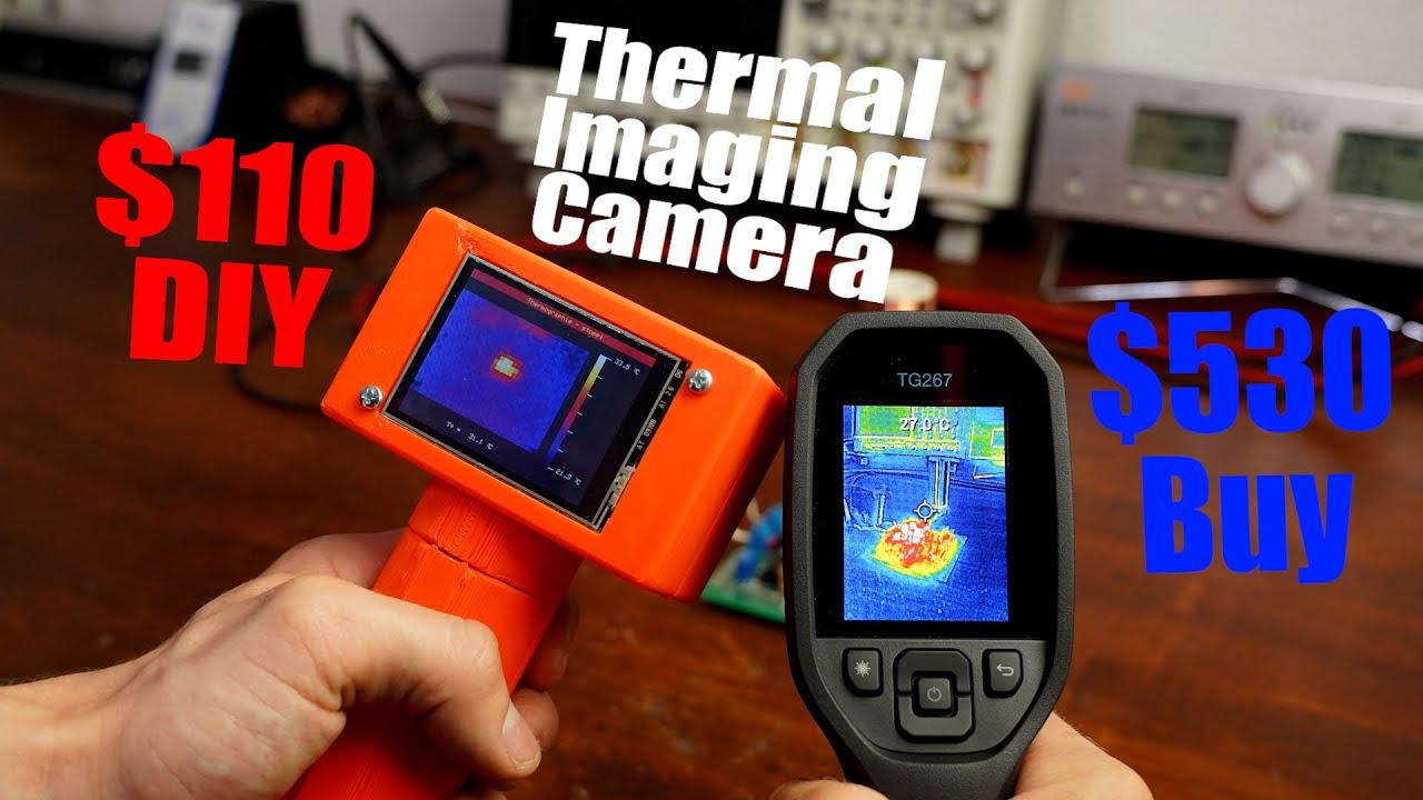 Thermal Imaging Camera DIY $110 VS Buy $530    DIY or Buy