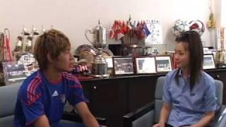 昨年のJユースカップで活躍した重松健太郎選手(FC東京)とJ2010Jリーグ...