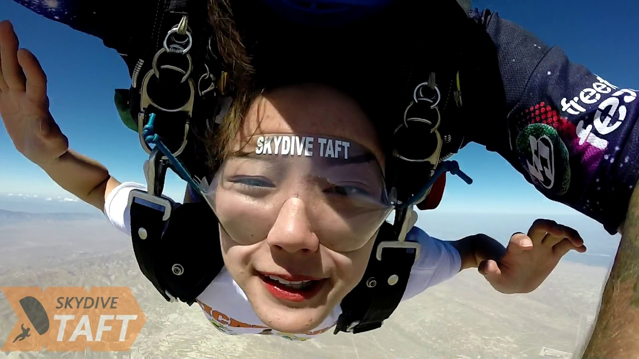 Yige Ma Skydive Taft