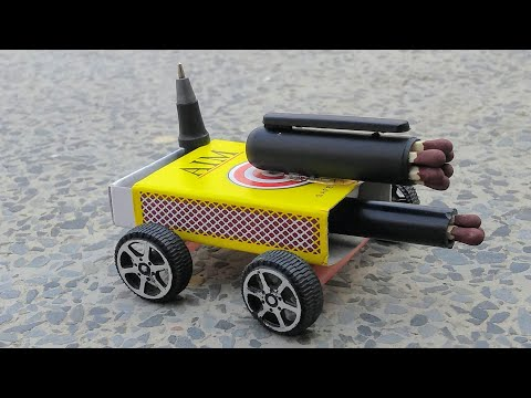 How To Make Matches Powered Matchbox Car At Home