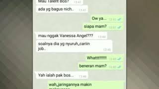 Percakapan Mucikari Vanessa Angel dengan Klien