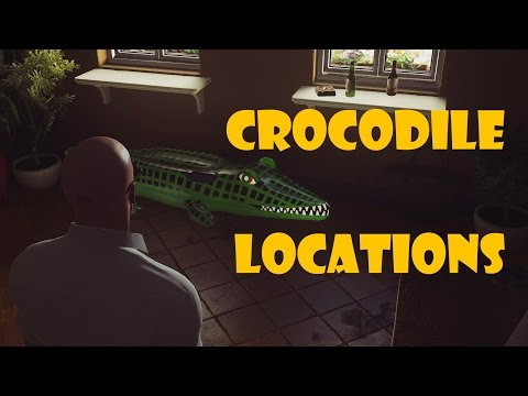 HITMAN - Sapienza - All inflatable crocodile locations (Investigator challenge)