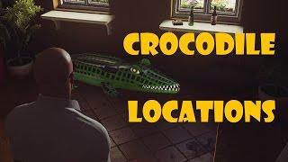 HITMAN - Sapienza - All inflatable crocodile locations (Investigator challenge)