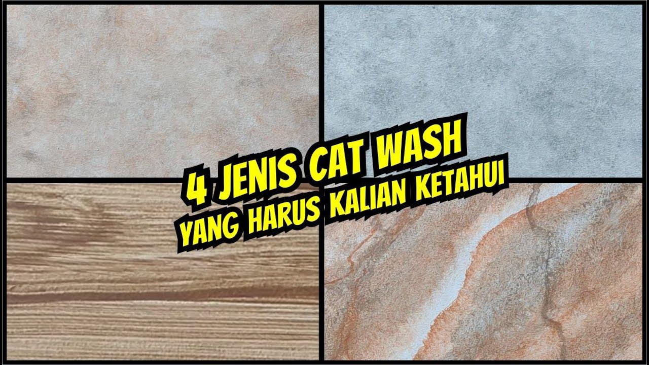 4 Jenis Cat Dekoratif Wash Paint Untuk Dinding Rumah Lebih Artistik Kreasi Karya Cipta