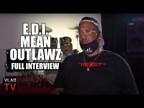 E.D.I. Mean (Outlawz) on 2Pac, Suge Knight, Nas, Left Eye, K
