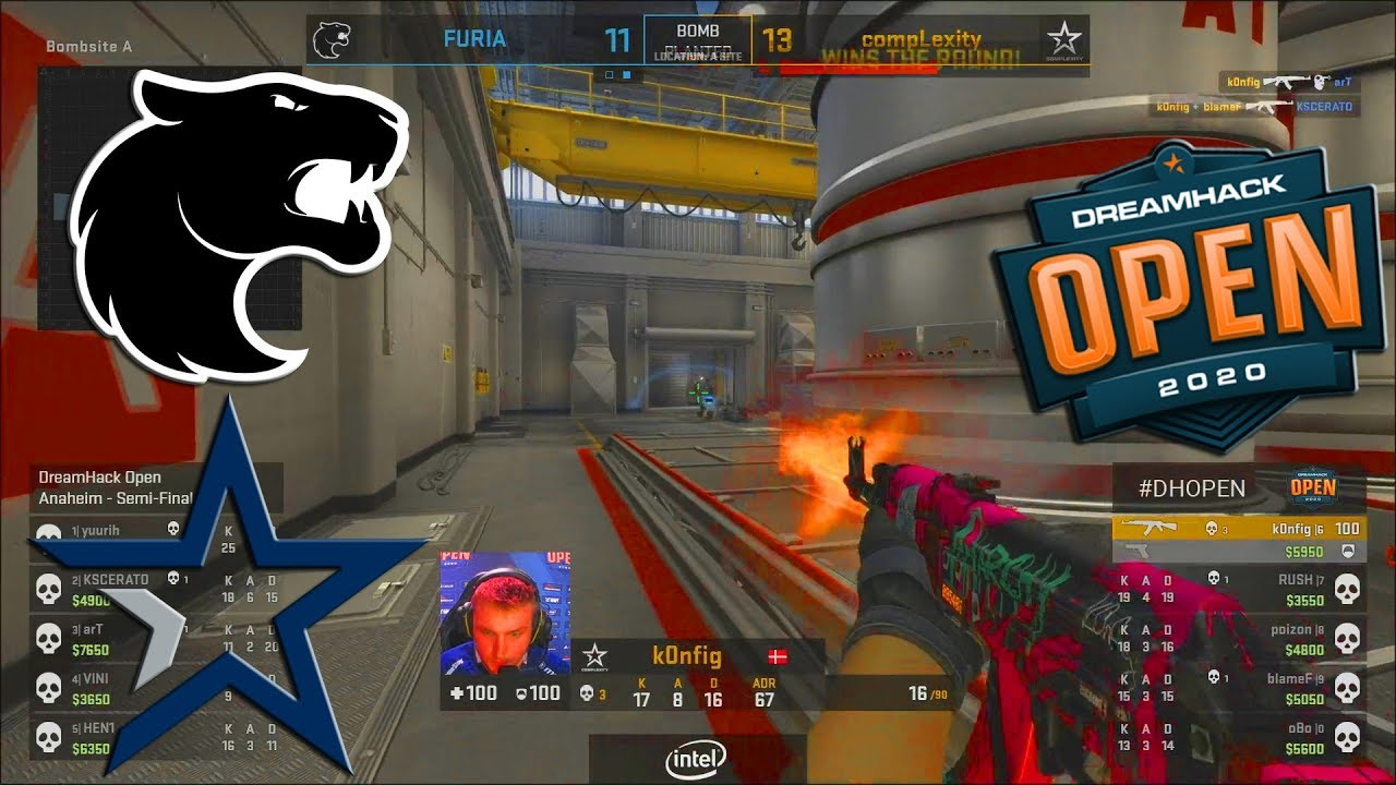 CRAZY SEMI-FINAL!! - Furia vs Complexity - DreamHack Open Anaheim 2020 - CS:GO thumbnail