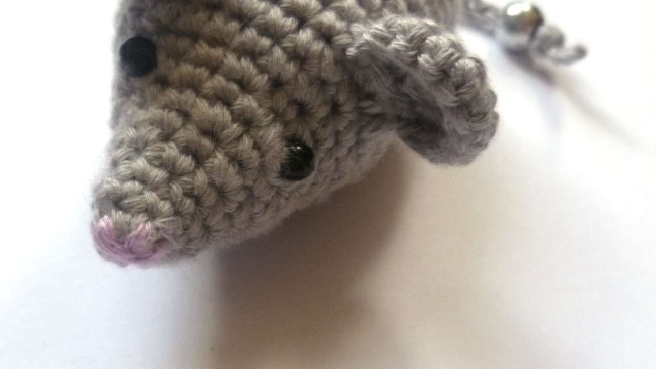 How To Make A Mouse Crochet Cat Toy Diy Crafts Tutorial