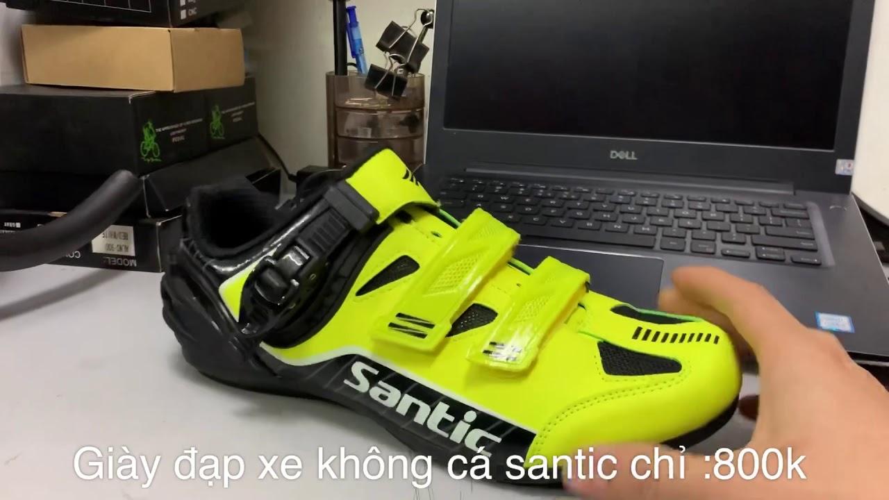 Giày chuyên dụng đạp xe santic