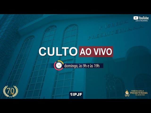 CULTO DOMINICAL - MANHÃ - 11/07/2021
