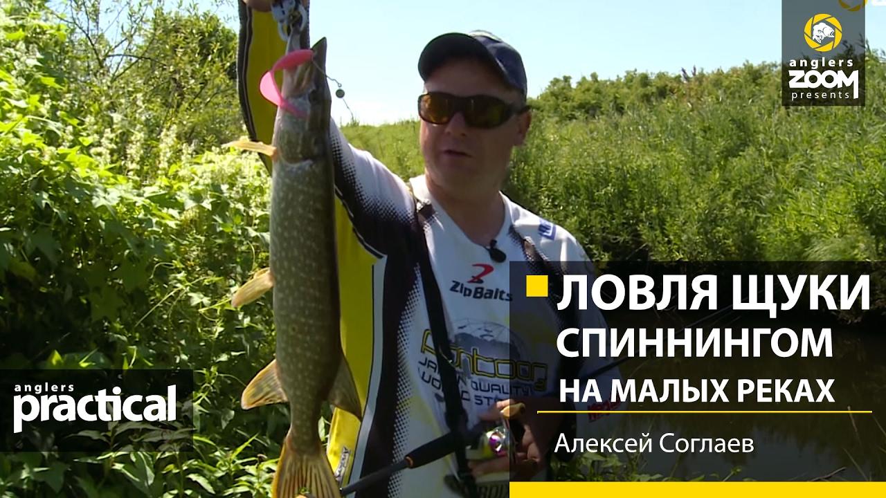 Ловля щуки спиннингом на малых реках. Алексей Соглаев ...