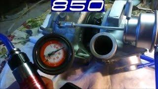 Ремонт двигателя Volvo 5-цилиндров ч 9.Турбина TD 04-16T.