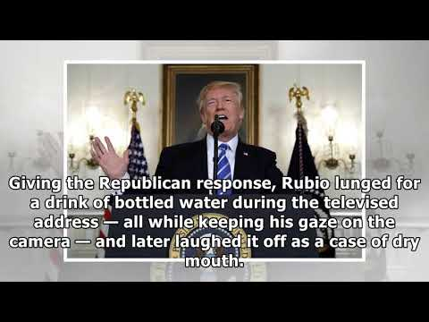 [Daily Times]Trump pauses address to nation to take 2 big swigs of water