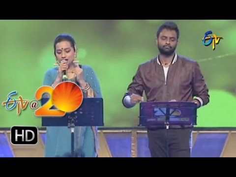 Kalpana,Hemachandra Performance - Ennenno Janmala Bandham Song in Khammam ETV @ 20 Celebrations