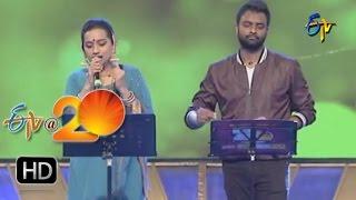 Kalpana,Hemachandra Performance - Ennenno Janmala Bandham Song in Khammam ETV @ 20 Celebrations